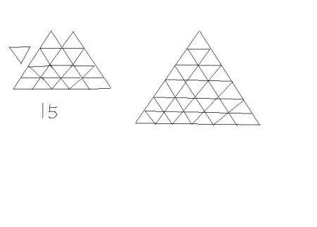 一道小学一年级的数学题,看图形,数字找规律!快来帮图片