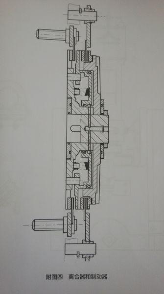 杨力jm36一315双点压力机离合器结构图子图片