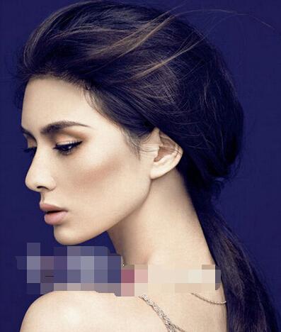 完成效果图:后脑勺扁平的女生图片