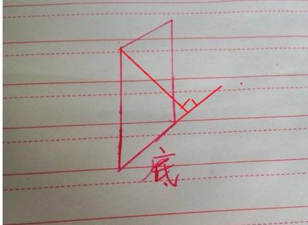 这个平行四边形的高怎么画图片