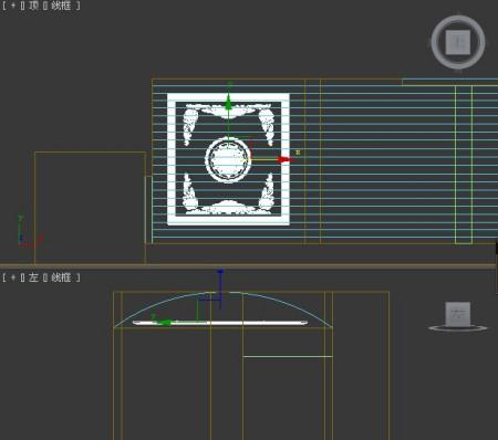 3dmax模型转弧形,我做的顶是弧型的图片