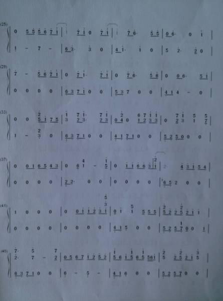 十二月的奇迹钢琴谱