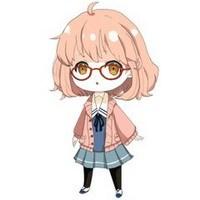 求几张 q版短发戴眼镜女孩 的照片蟹蟹.图片