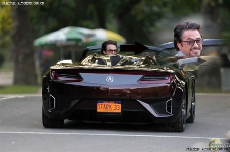 复仇者联盟,最后场景出现 讴歌跑车,谁有那车资料, 百度知道高清图片