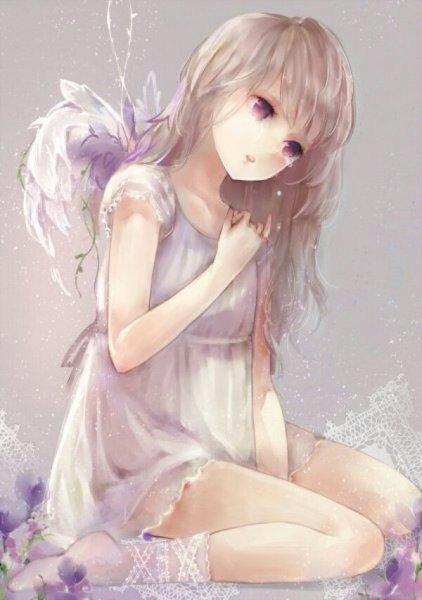 唯美,梦幻,有人物女生动漫图片~越好看越好~朦胧感
