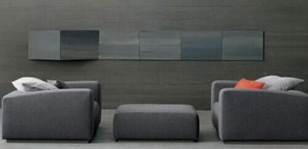 灰色沙发配什么颜色壁纸