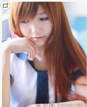 直发加斜刘海可以留什么发型 图图片