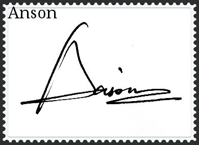 英文名签名设计图片