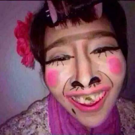 陌陌女生头像精选重口味丑女超丑图片