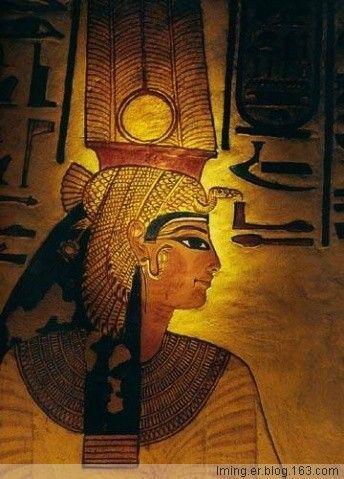 古埃及王后纳菲尔塔莉像 以及埃及法老拉美西斯二世的全部详细资料 图片