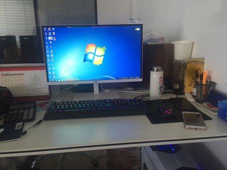 27寸电脑显示器多大,给我图片图片