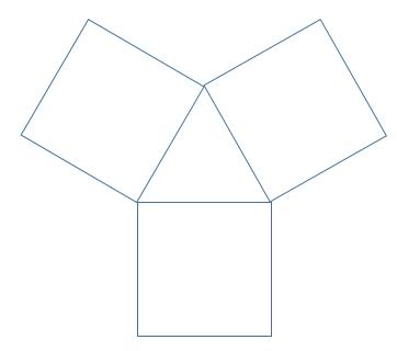 奥数玩火柴12根火柴3个正方形一个三角形图片