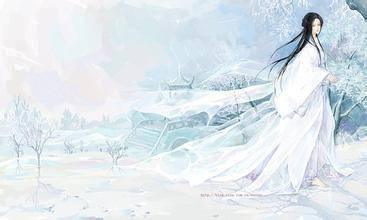 紫发紫眸的古风美男 中国风古装银发美男 古代四大妖孽美男高清图片