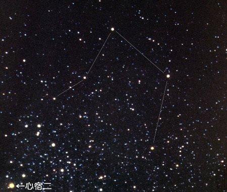 天空中的天秤座是什么形状图片