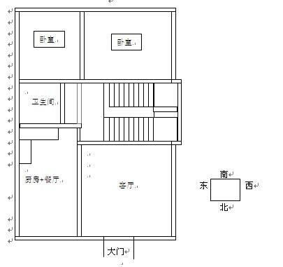 我准备在农村自建一栋房子,宽约8米,长约12米地基,请大师们帮看看设计图片