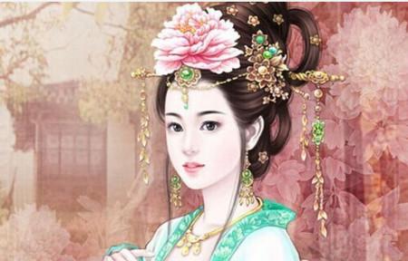谁给我一张唐代美女图