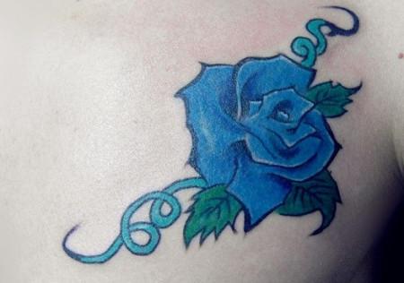 这个玫瑰可以盖住我的纹身吗?图片