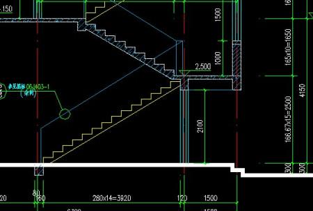 首层顶层楼梯画法_天正建筑首层楼梯画法:楼梯数据如图 .