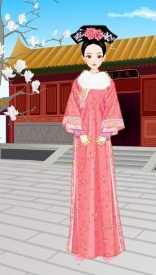 求超萌卡通古代宫廷女子图片图片