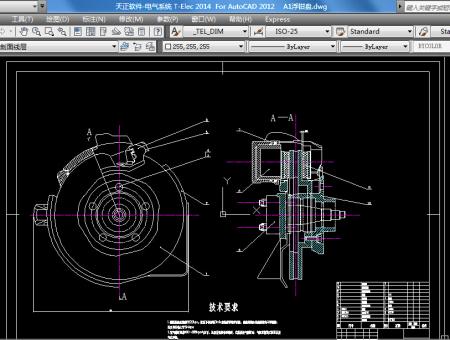求浮钳盘式制动器零件图及装配图,cad图,急用
