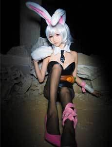 lol邪恶兔女郎图片 真人兔女郎邪恶图片 lolcos兔女郎图片 兔女郎h邪恶