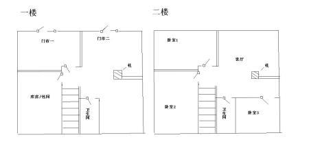 农村两层楼房设计图图片