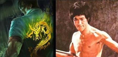 盲僧李青,有一个皮肤叫龙的传人图片