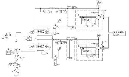 请教绘制液压集成块的方法,有原理图图片