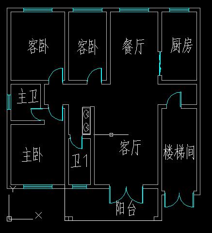 本人宅基地长12米,宽约9.5米,求房屋设计图,具体内容如下.图片