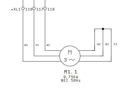 下面是德国图纸转炉,请问-XL1、116、117、1电气图纸图片