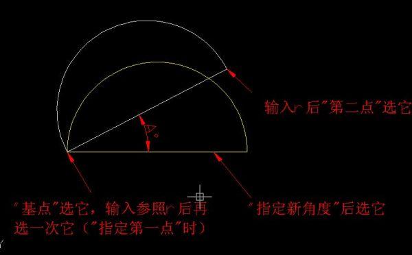 具体命令v命令一下CAD中旋转实例之下cad看图极版迷你速图片