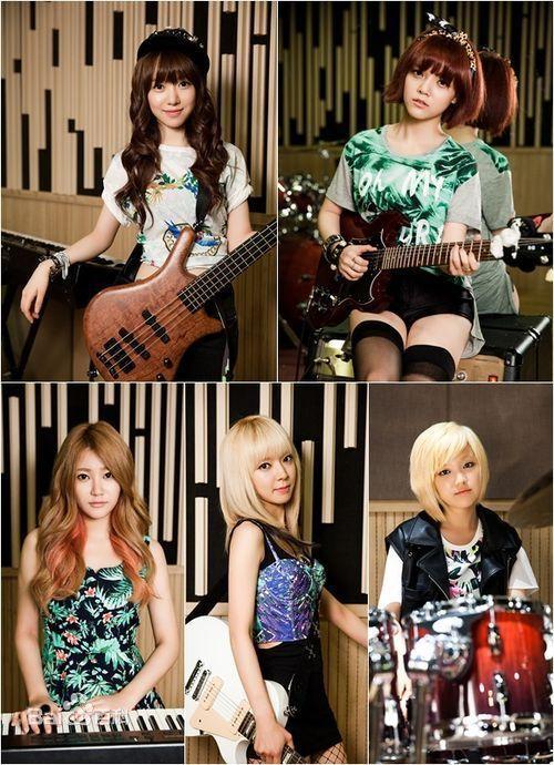 炫动亚洲里面有个韩国女子乐队