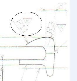 日本意思里倒三角里面有个R是比例,标示什图纸上1:100怎么图纸回事图片