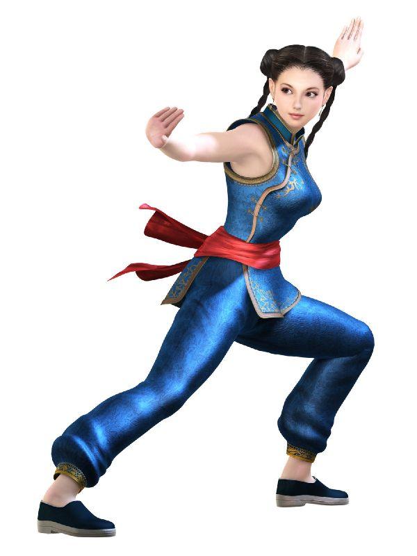 游戏,里面有个中国姑娘,赤手空拳的格斗 游戏里面大约有十多个