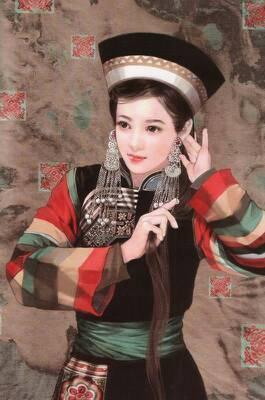 少数民族服饰的特点有哪些 图片有吗图片