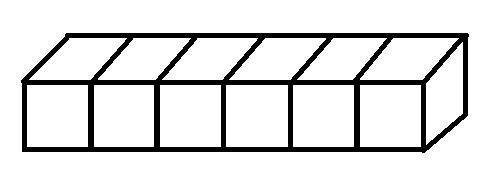 6个正方体图片
