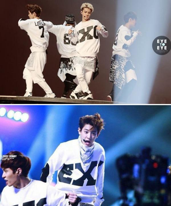 跳EXO的 舞 狼与美女 咆哮 穿什么衣服好 男生 求推荐