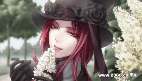 图片中的是哪个动漫人物?红发黑衣御姐大美女