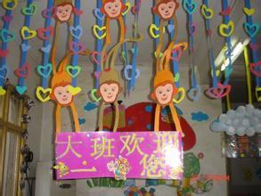 怎样布置幼儿教室吊饰图片图片