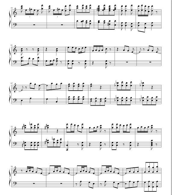 好听的新年歌钢琴伴奏钢琴谱 如大地回春 若提供本人感激不尽!图片