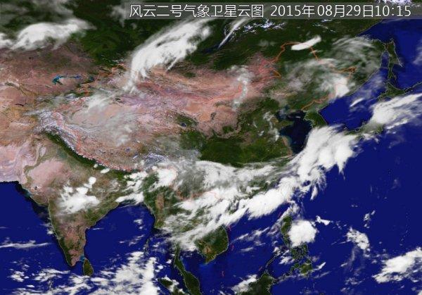 牡丹江卫星天气云图图片