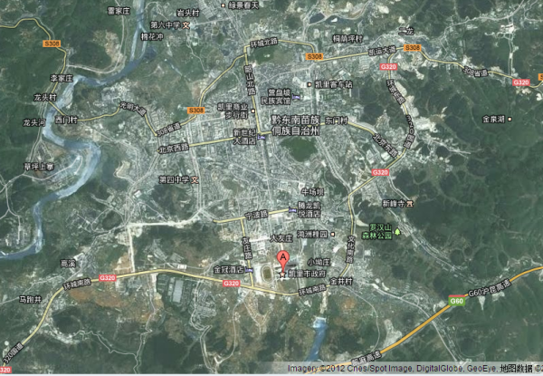 凯里市地图 凯里市地图全图高清版 凯里旅游景点地图