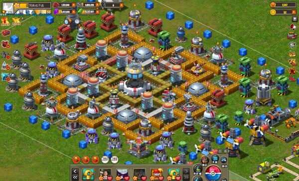 玩具战争16级主基地迷宫阵型图 自创图片