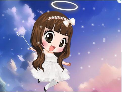 求qq炫舞自定义图片小天使安琪儿格式图片,谢谢图片