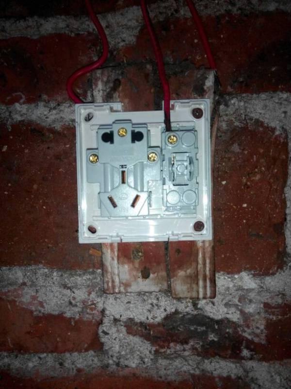 家用电灯开关怎么接