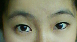 这个女生是什么眉型?什么眼型?好看吗?
