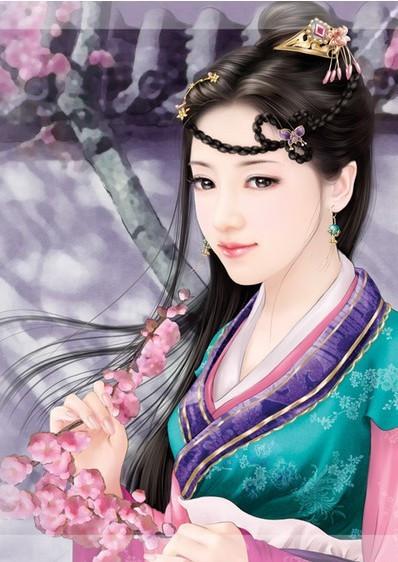 中国古代四大美女真人图片