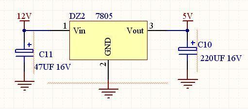 7805稳压IC能否独立使用图片