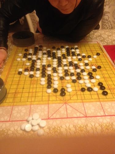 我白棋怎么下阿!五子棋图片