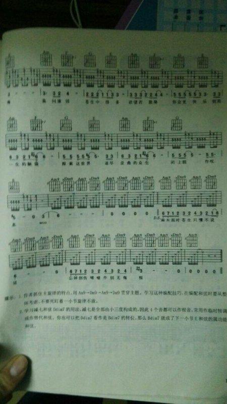 无语问苍天的吉他谱